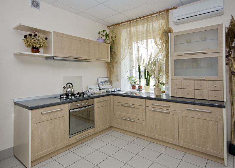 modern kitchen interior details image